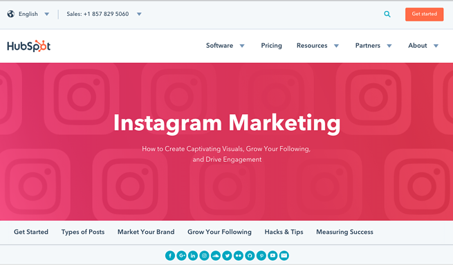 Hubspot's Instagram Marketing Guide